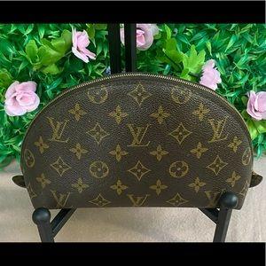 Authentic Louis Vuitton Monogram GM Ronde Pouch